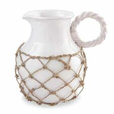 Front Porch Rope Handled Pitcher