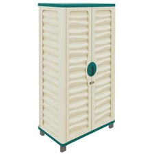 """62"""" H x 29.3"""" W x 17.1"""" D Storage Cabinet"""
