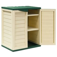 Heavy Duty 2.45 Ft. W x 1.72 Ft. D Storage Shed