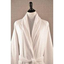 Shawl Collar Terry Cloth Bathrobe