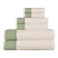 Venice 6 Piece Towel Set