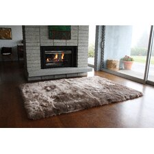 Straight Edge Taupe Area Rug