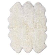 Six Pelt Ivory Area Rug