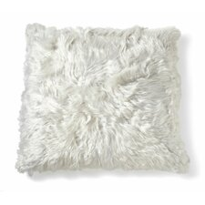 Alpaca Microsuede Throw Pillow