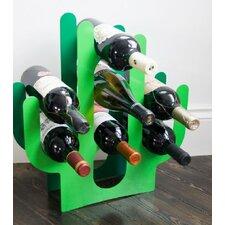 Cactus 7 Bottle Tabletop Wine Rack