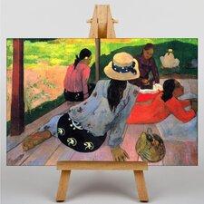 Leinwandbild The Siesta Kunstdruck von Paul Gauguin