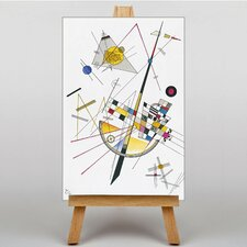 Abstract by Wassily Kandinsky Art Print on Canvas