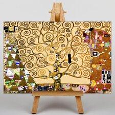 Leinwandbild The Tree of Life,Kunstdruck von Gustav Klimt