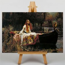Waterhouse The Lady of Shalott by John William Art Print on Canvas