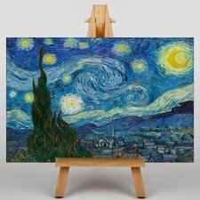 A Starry Starry Night by Vincent Van Gogh Art Print on Canvas