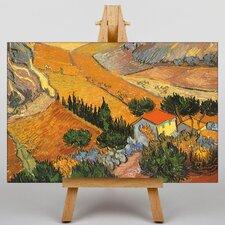 """Leinwandbild """"Landscape"""" von Vincent Van Gogh, Kunstdruck"""