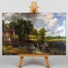 Leinwandbild The Hay Wain, Kunstdruck von John Constable