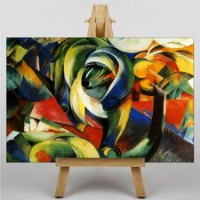 The Mandrill by Franz Marc Art Print on Canvas