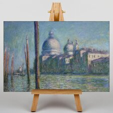 Le Grand Canal, Venice by Claude Monet Art Print on Canvas