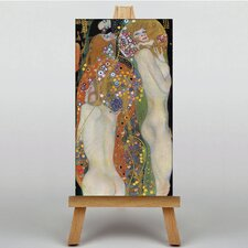 Water by Gustav Klimt Art Print on Canvas