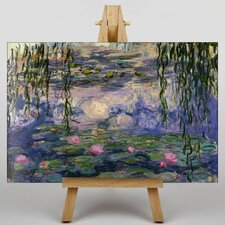Water Lilies by Claude Monet Art Print on Canvas