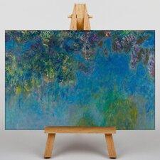 """Leinwandbild """"Wisteria"""" von Claude Monet, Kunstdruck"""