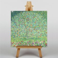 Apple Tree No.2 by Gustav Klimt Art Print on Canvas