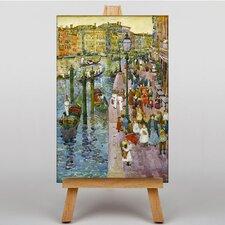 """Leinwandbild """"Terra Grand Canal Venice"""" von Maurice Prendergast, Kunstdruck"""