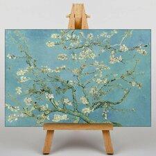 Leinwandbild Blossoming Almond Branches No.2 Kunstdruck von Vincent Van Gogh