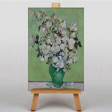 White Roses by Vincent Van Gogh Art Print on Canvas