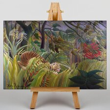 Surprise by Henri Rousseau Graphic Art on Canvas