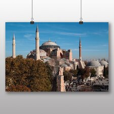 Hagia Sophia Istanbul Turkey Photographic Print on Canvas
