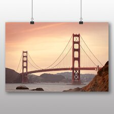 San Francisco Gate Bridge Photographic Print