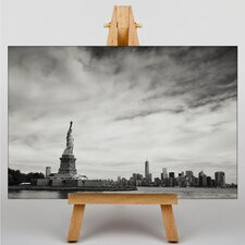 Statue of Liberty New York USA No.1 Graphic Art on Canvas