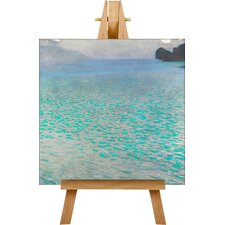 Lake Attersee No.3 by Gustav Klimt Art Print on Canvas