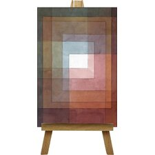 Watercolour Squares by Paul Klee Art Print on Canvas