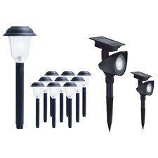 LED Landscape Lighting Kits Set of 12