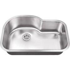 """31.5"""" x 21.13"""" Single Bowl Kitchen Sink"""