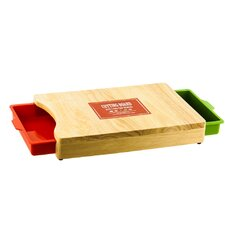 Cutting Board With Pull Out Drawers