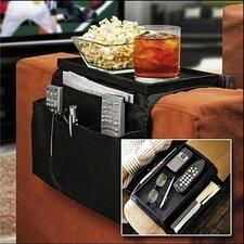 Couch Buddy Remote Control Holder Sofa Arm Rest Organizer Caddy
