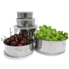10 Piece Stainless Steel Mixing Bowl Set