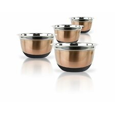 4 Piece Stainless Steel Mixing Bowls Set