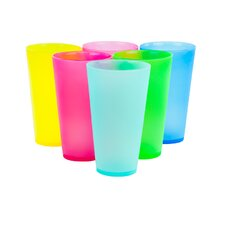 Picnic 6 Piece Colorful Party Cups
