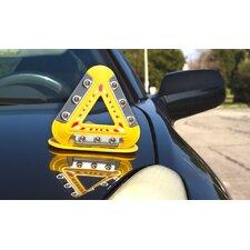 Flashing Emergency Triangle LED Warning Lights