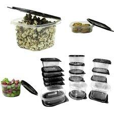 30-Piece Plastic Food Container Set