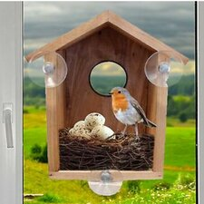 Window Secret Birdwatcher Mounted Bird Houses