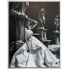 Gerahmtes Kunstdruck Abendkleid, Colosseum, Rom