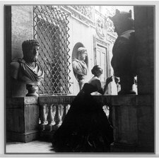 Kunstdruck Abendkleid, Rom, 1952 - 71 x 71 cm