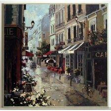 Kunstdruck Blumenweg - 51 x 51 cm
