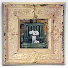 Kunstdruck Gänseblümchen auf dem Land - 31 x 31 cm