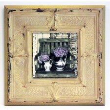 Kunstdruck Hortensien auf dem Land - 31 x 31 cm