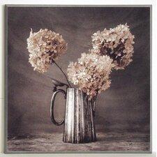 Kunstdruck Blumen in Kanne - 31 x 31 cm