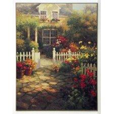 Kunstdruck Schattenterrasse - 81 x 61 cm