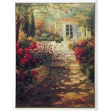Kunstdruck Sonnenterrasse - 81 x 61 cm