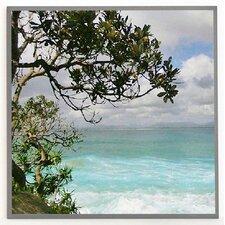 Kunstdruck Tropen, Ozean - 31 x 31 cm